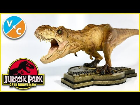 Chronicle Collectibles Jurassic Park T.Rex Review (ThinkGeek Exclusive)