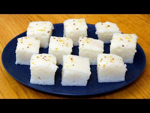 南方桂花大米糕做法:純米漿發酵無任何添加,香甜鬆軟,健康營養【夏媽廚房】
