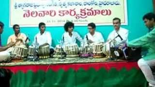 Ravi Kanth Thati's First year Disciples from Govt.Music College, Ramkoti, Hyd.