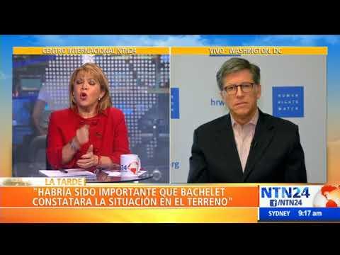 Vivanco insiste en que Bachelet debió visitar cárceles y hospitales en Venezuela
