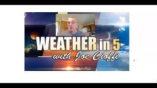 Weather in 6 Record Heat & Lorenzo Impacts Azores Today, England,  Ireland, Scotland Thursday.