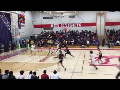Marcellus Taliaferro #35 Milwaukee Lutheran High School 2019-2020 Senior Season Highlights