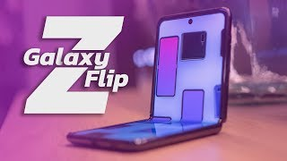 Samsung Galaxy Z Flip Unboxing and Hands-on