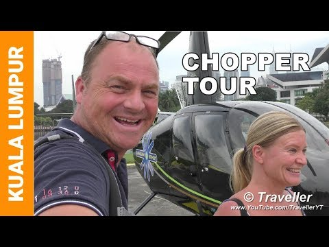 Kuala Lumpur Helicopter Tour - Kuala Lumpur attractions - Travel video