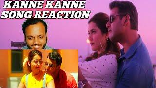 Kanne Kanne Full Song REACTION   Ayogya   Anirudh Ravichander   Vishal, Raashi Khanna
