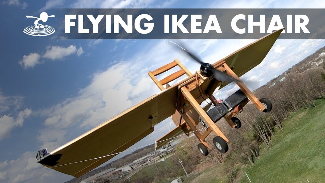 Ikea Le Mans Ikea Chair Turned Into An Rc Plane Flykea Chairplane