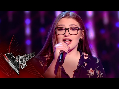 Victoria Kerley performs 'Treat You Better': Blind Auditions 7 | The Voice UK 2017
