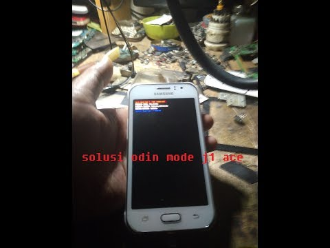 Cara Mengatasi Odin Mode Samsung J1 Ace J110g Part1 Youtube