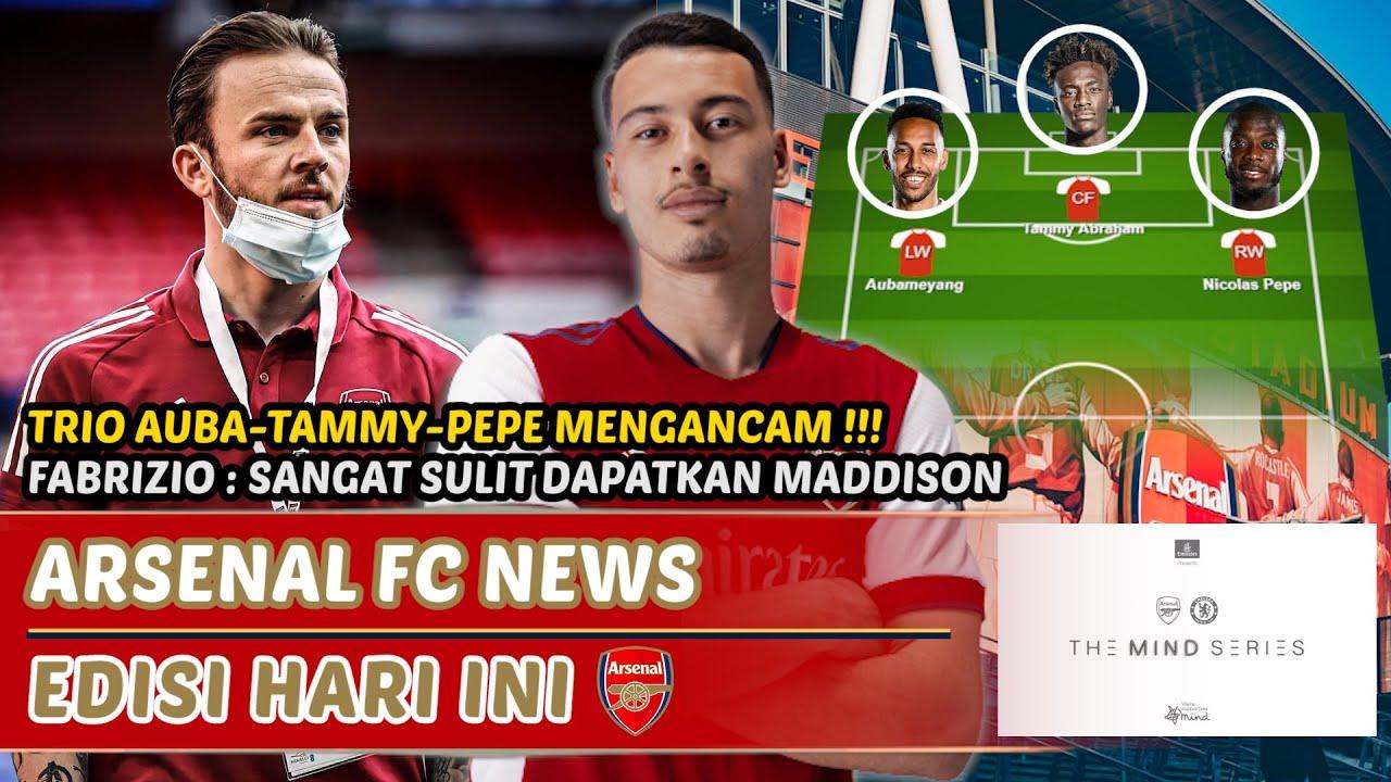 Trio baru Arsenal mengancam👊Update transfer Maddison📢Martinelli harus dimainkan🔴 Berita Arsenal