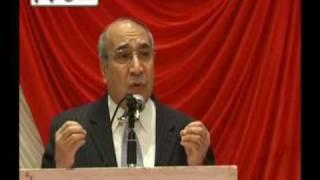 Ali Ahmad Jalali Afghan Presidential Candidate 2009: Part 2 Pashtu speech