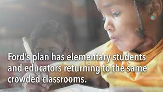 It's not too late to fix the plan for return to school