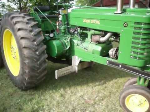 john deere g tractor for sale telephone wall plate wiring diagram australia series pulling restored youtube