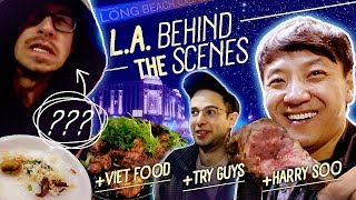 BEST BBQ & Hotpot With TRY GUYS Behind the Scene in Greater Los Angeles