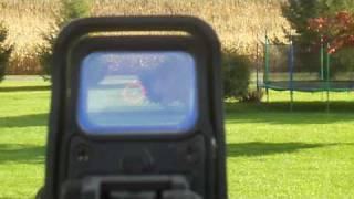 shooting and rof test of my jg m4 stubby killer with a 9 6v battery