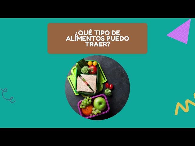 Recomendaciones hora de colación- Pumahue Temuco