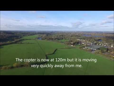 How NOT to fly a DJI Phantom 3 Professional (in strong wind).