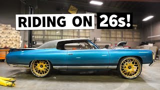Our Donk Gets its New One-Off Custom-Milled Wheels! Plus, Big Block CHOP