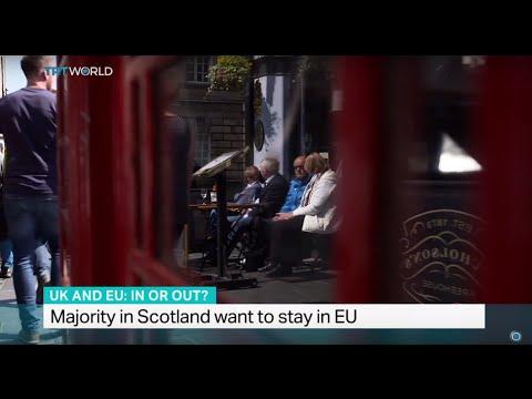 Majority in Scotland want to stay in EU, Iolo ap Dafydd reports