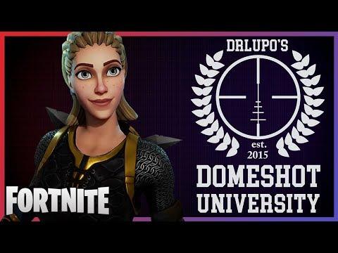 Fortnite - Domeshot University - April 2018 | DrLupo