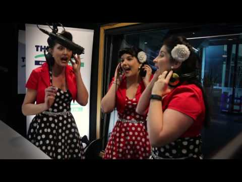 The Starlets sing on Christchurch's The Breeze