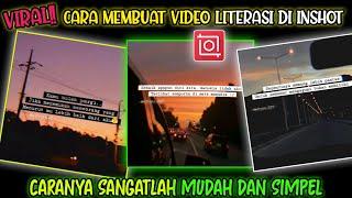 Download VIRAL!! Cara Membuat Video Quotes Literasi Di Inshot | Sangatlah  Mudah