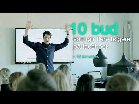 10 bud som gir flere følgere på facebook + 40 bonustips