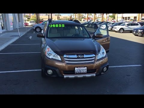 2013 Subaru Outback Palm Springs, Palm Desert, Cathedral City, Coachella Valley, Indio, CA 204166T