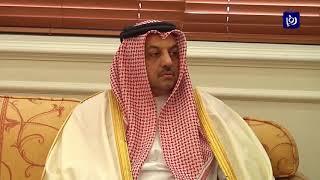 الرزاز يستقبل نائب رئيس الوزراء وزير الدولة لشؤون الدفاع القطري (18-4-2019)