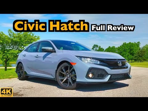 2019 Honda Civic Hatchback: FULL REVIEW + DRIVE   Winning Combo of Style & Space!