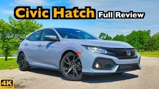 2019 Honda Civic Hatchback: FULL REVIEW + DRIVE | Winning Combo of Style & Space!