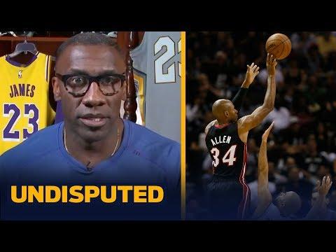 Ray Allen Had The Best Finals Shot. It's A No-brainer — Shannon Sharpe | NBA | UNDISPUTED