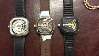 New Sevenfriday M2-2 rose gold comparison with M1 & M2