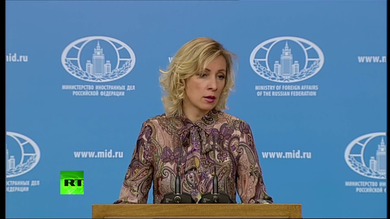 Мария Захарова: Брифинг для прессы, 27.04.17