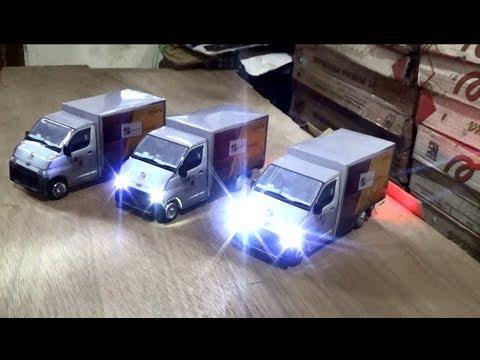 Membuat Miniatur Mobil Grand Max - Box