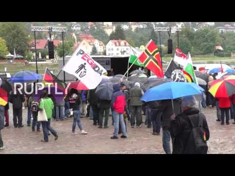 LIVE: Nationalists to mark unity day with a rally in Dresden