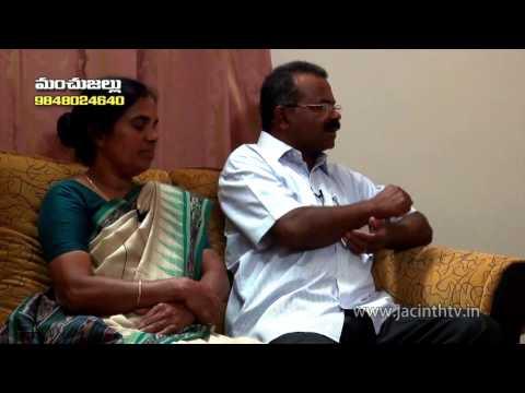 Blessed family Programme - Jacinth Tv - Interview with  Mr.joy & Mrs.leelamma  - Sis.Jacintha Rani