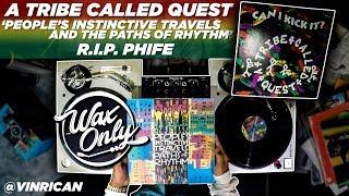Discover Samples On ATCQ 'People's Instinctive Travels & The Paths of Rhythm' #WaxOnly