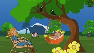 Rock A Bye Baby On The Tree Top - Lullabies for Babies - Nursery Rhymes - Lullaby Baby Songs