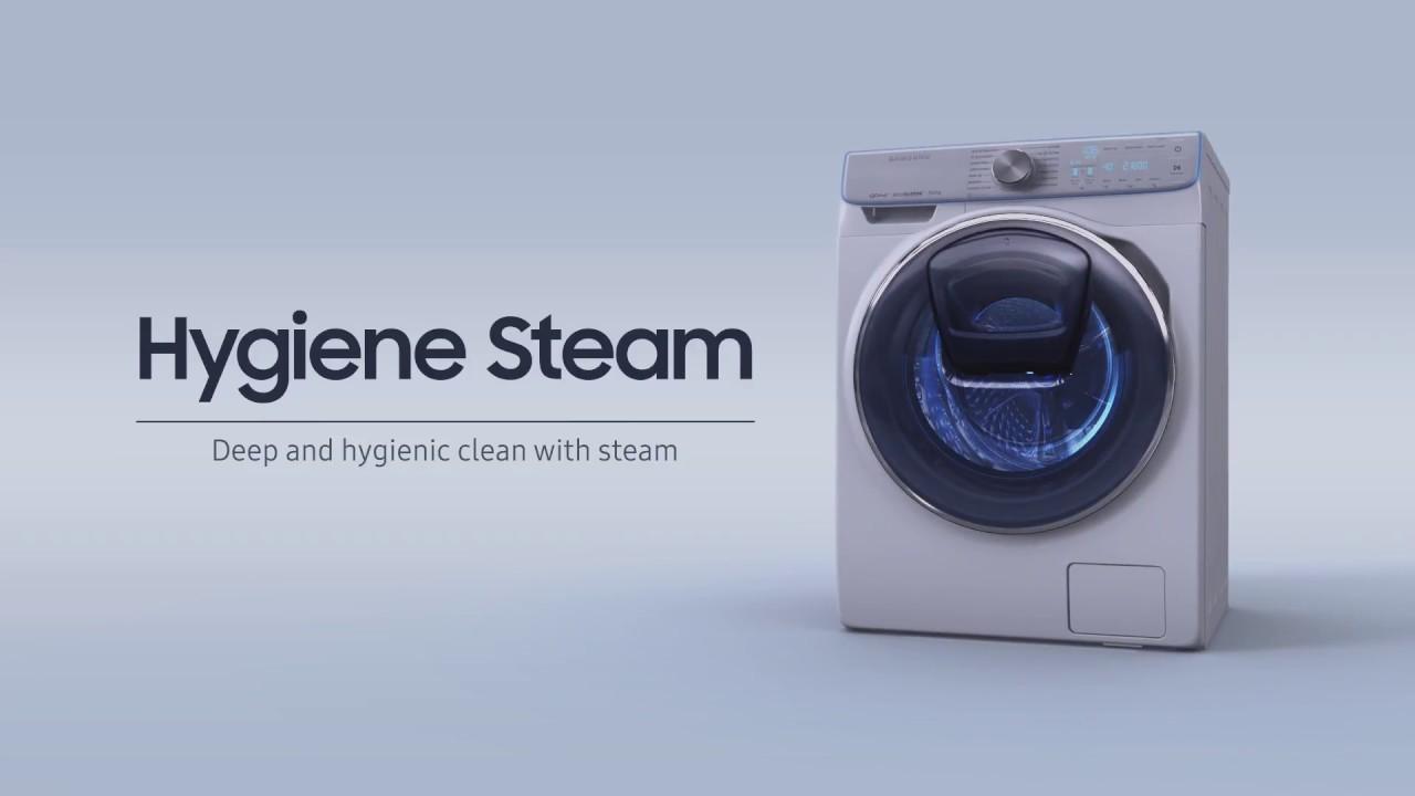 Công nghệ giặt hơi nước HYGIENE STEAM – Samsung