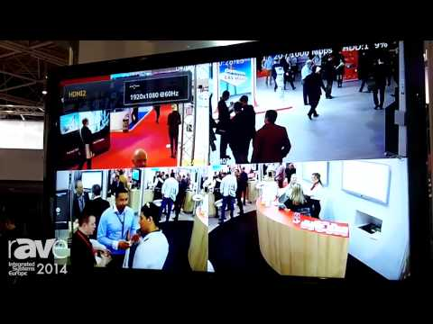 ISE 2014: Lilin Demonstrates Integration with Control 4 and Interoperability with 2.5.3 System