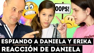 LA REACCIÓN DE DANIELA AL DESCUBRIR QUE LA PILLAMOS! ¿LLORA? | Yippee Family
