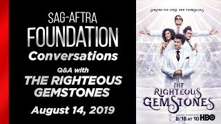 Conversations with THE RIGHTEOUS GEMSTONES