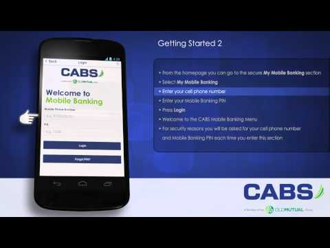 Getting Started with CABS Mobile Banking App - Part 2