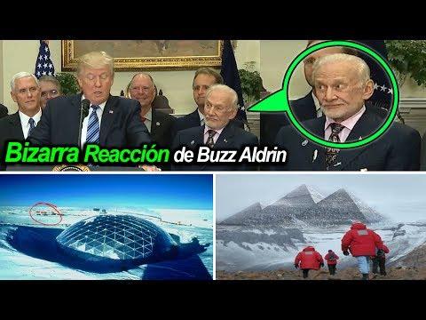 ►► ANTÁRTIDA y el DOMO / BIZARRA REACCIÓN del Astronauta BUZZ ALDRIN al discurso de DONALD TRUMP  😨