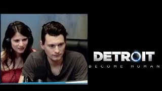 Bryan Dechart(Connor) и Amelia Rose(Traci) играют в Detroit thumbnail