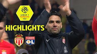 AS Monaco - Olympique Lyonnais (3-2) - Highlights - (ASM - OL) / 2017-18
