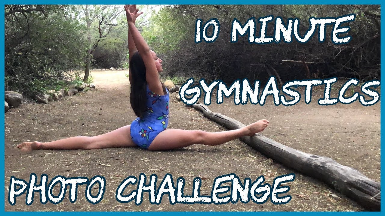 10 minute gymnastics photo challenge