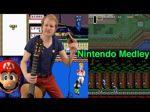 50 Famous Nintendo Songs on Classical Guitar (Nes Game Boy Snes N64)
