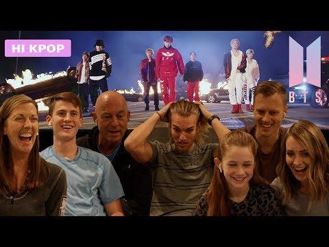 미국 가족이 KPOP을 처음 보면? BTS Mic Drop 해외반응!