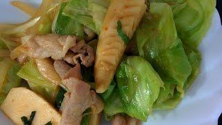 Japanese Style Hoikoro Recipe - Stir Fried Pork and Vegetables in Sweet Miso Sauce